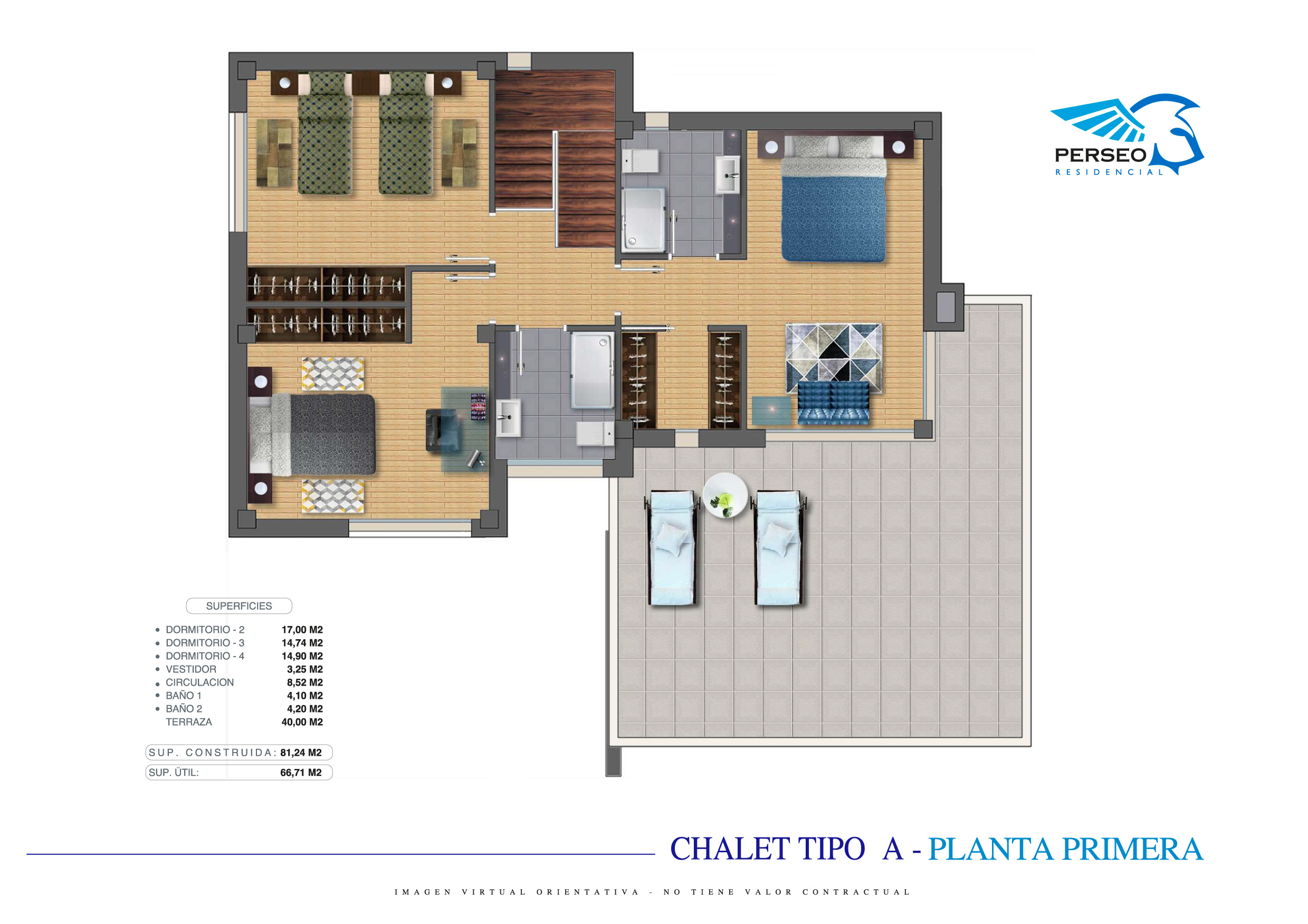 Residencial Perseo - Chalet A - P1-01