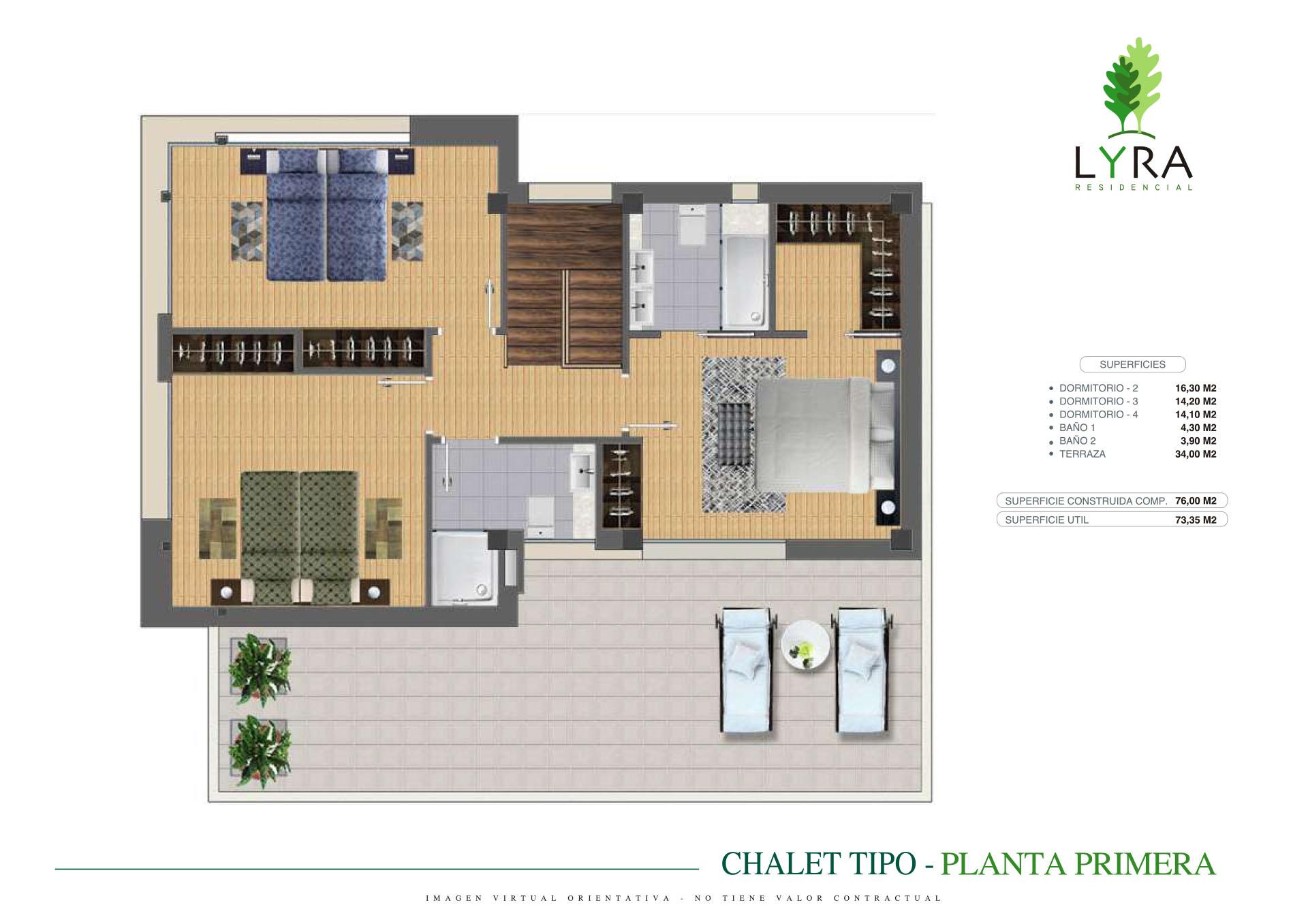 Prezanes_Chalet-tipo_Planta-primera